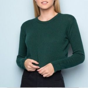 2 RED and GREEN brandy Melville sweaters